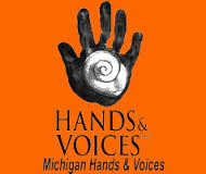 MIchigan Hands Voices Logo